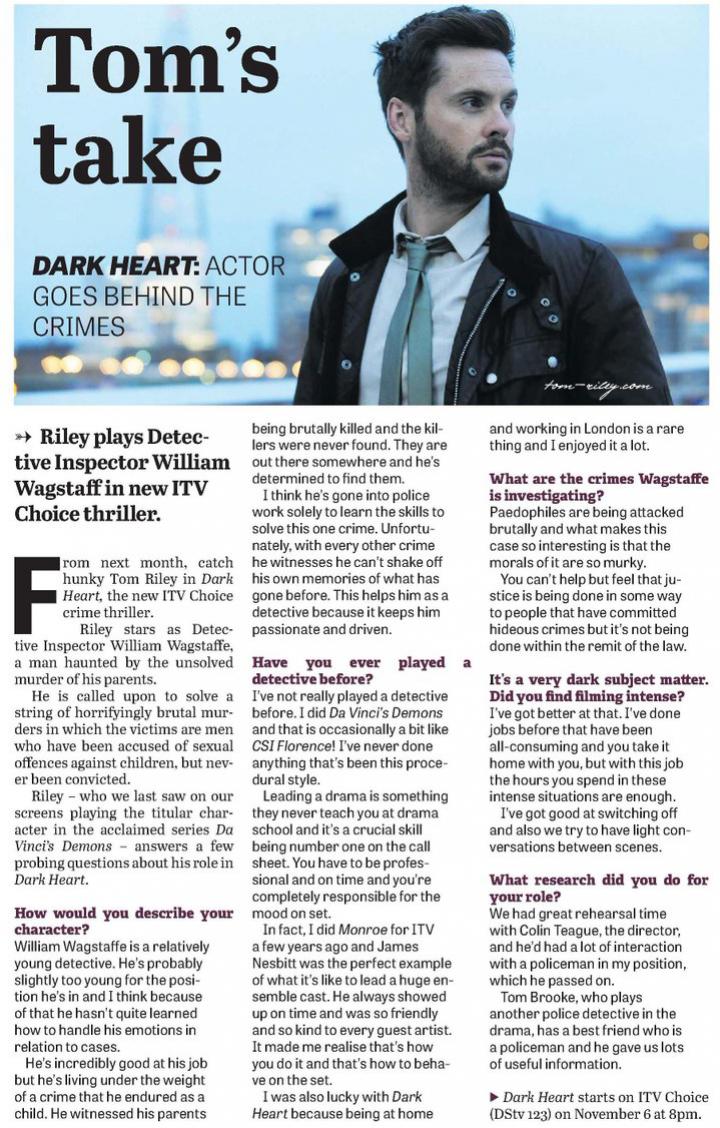 tom riley dark heart itv